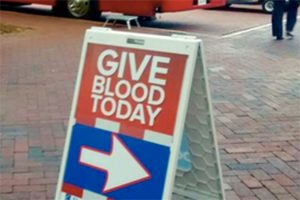 Blood drive (Photo via Reston Town Center)