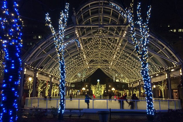 Reston Town Center ice skating pavillion