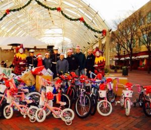 Toys For Tots collection at Reston Town Center (Photo via RTC)