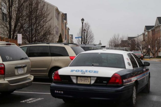 Fairfax County Police remain on the scene Tuesday morning.