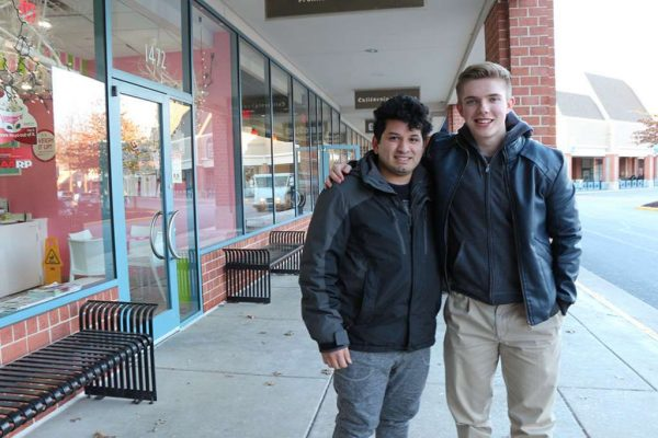 Ryan Alcorn and Jonathan Rodriguez Chicas ('Primo')