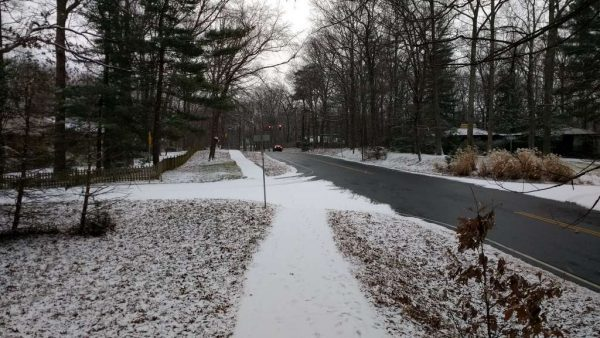 Winter scene in Reston via Douglas H. Errett/@MrErrett - Twitter