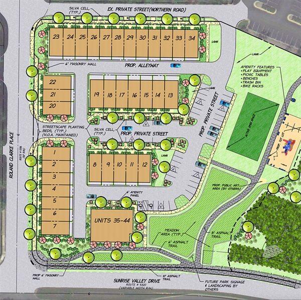 Sunrise Square plan/Reston Association