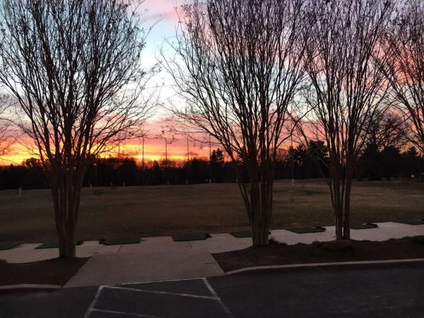 Sunrise at Reston National - Twitter/JonnyMacGolf