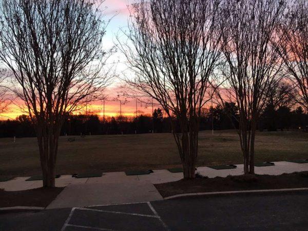 Sunrise at Reston National - Twitter/JonnyMacGolf