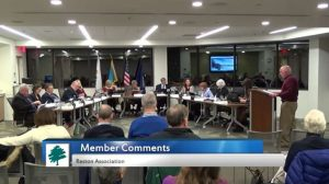 Ed Abbott addresses RA board - Jan. 26, 2017