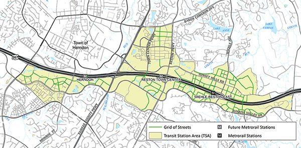 Reston Transit Area/Fairfax County