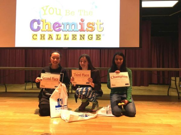 Edlin School students - chemistry competition