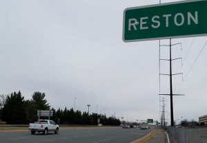 Reston street sign