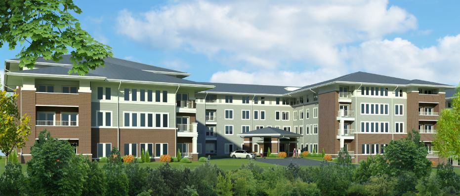 Retirement Community at Hunters Woods on Track for Spring Opening