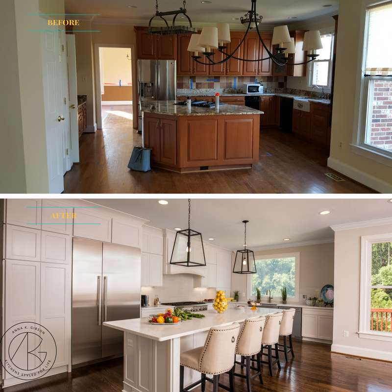 But The Layout Didn T Work For Our Homeowner Who Wanted A Big Open Space That Was Light And Inviting In This Project Extensive Construction Was