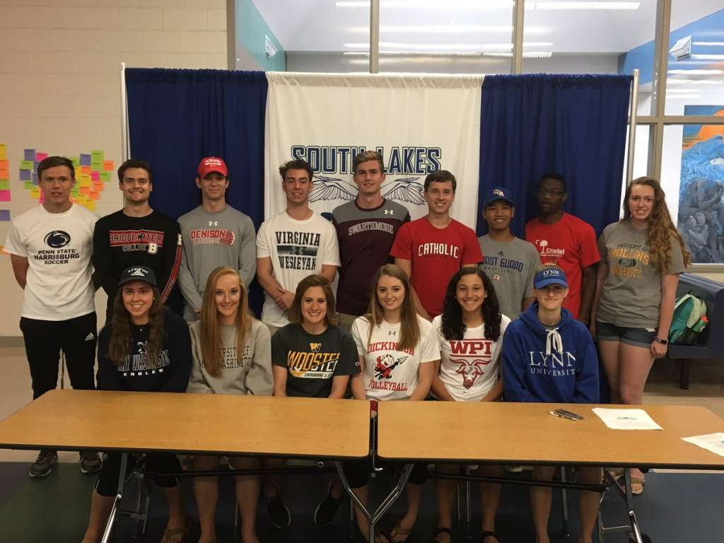 High Point Lacrosse >> 29 South Lakes High School Athletes Will Continue Playing ...