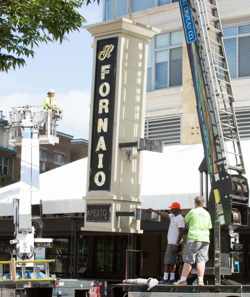 Reston Town Center Map: Photos: Last Call For Il Fornaio Restaurant At Reston Town