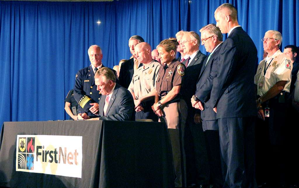 Virginia is First With FirstNet