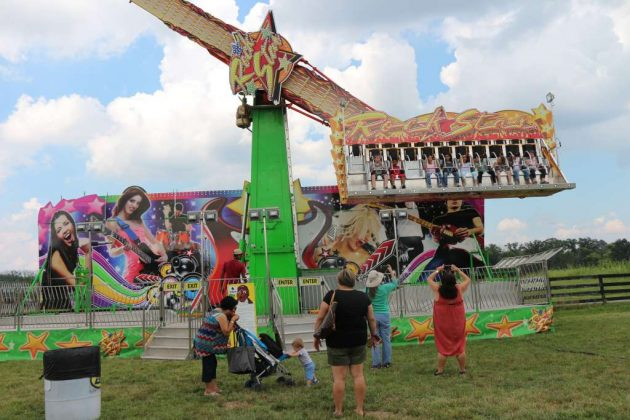 The Fairfax County 4-H Fair and Carnival is now underway.
