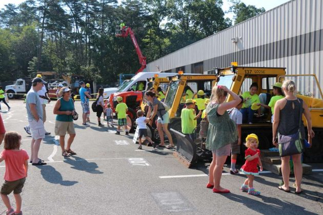 "Reston Association's ""Totally Trucks"" event took place Friday at the Central Services Facility."