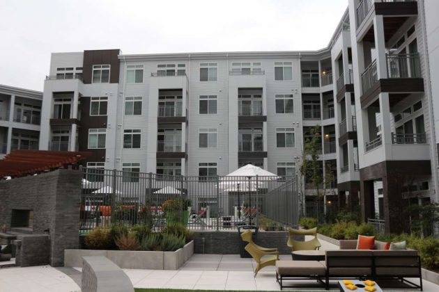New Residents Are Beginning To Move Into Aperture (11410 Reston Station  Blvd.), Which Is Described As U201cnot Just An Apartment Building, But An  Artistic ...