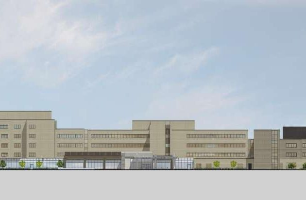 Overall hospital (Credit: Gresham Smith and Partners)