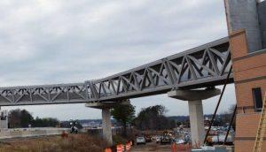 Silver Line Phase 2 Construction at Reston Town Center (Photo via Capital Rail Constructors)