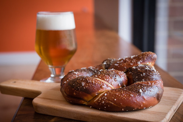 Plans to tailor pretzels for breweries are in-the-works. (Credit: Studio-M Photos &  Jennifer Heffner Photography)