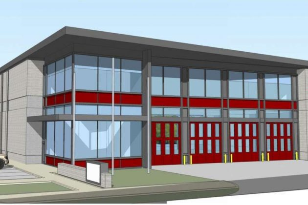 The two-story building would replace the current structure. (Photo via handout)