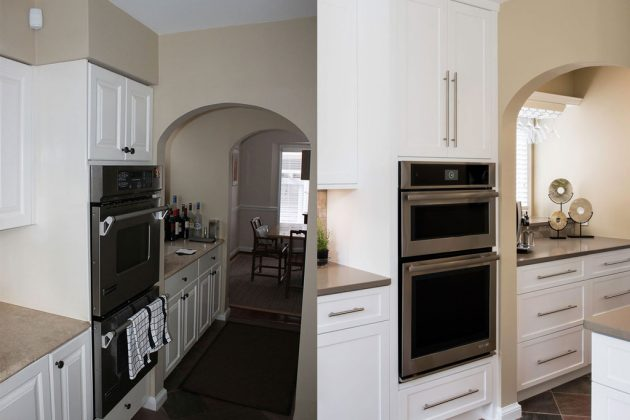 Butler Pantry Before and After