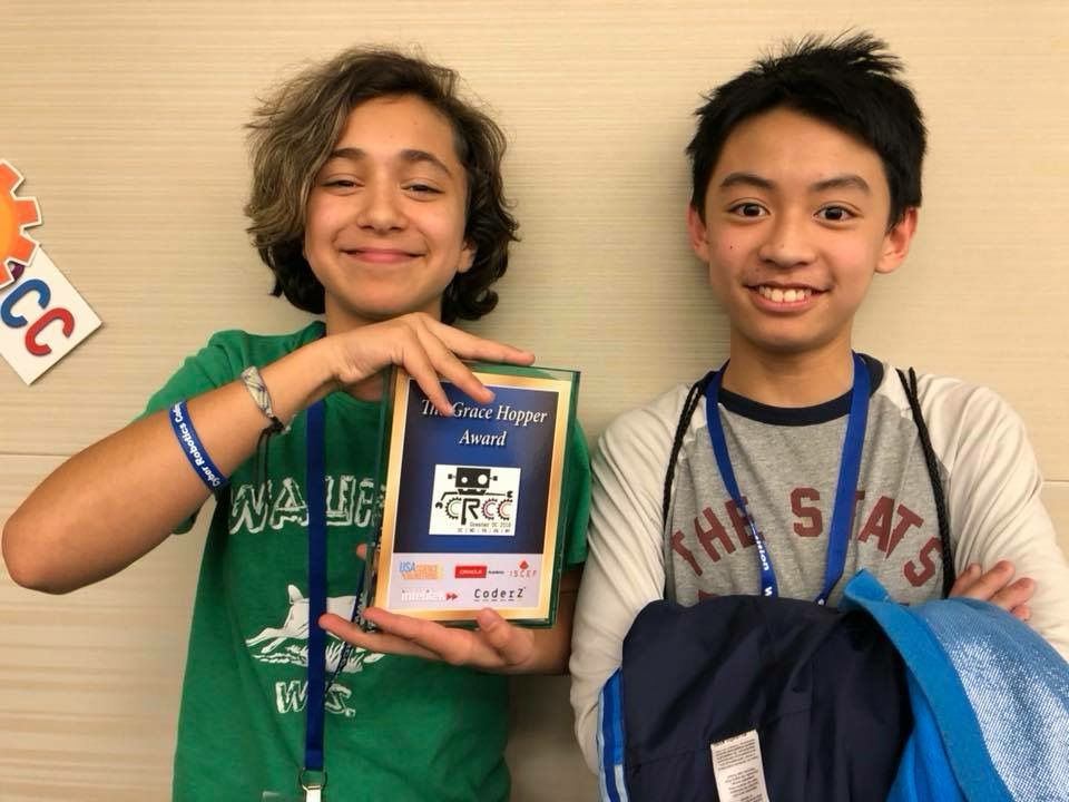 Reston Now Berthold Academy Wins Coding Award On Highest Female