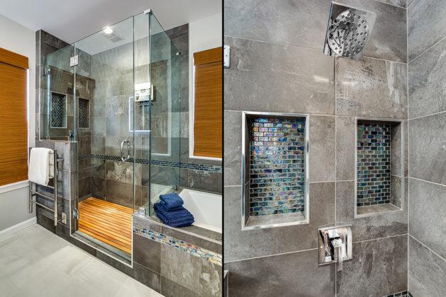 Completed Shower Details