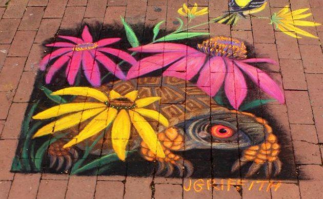 Amateur Artist, 2nd Place: Jennifer Griffith,