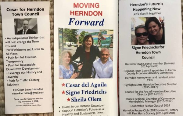 In Civil Suit, Three Herndon Town Council Candidates Allege