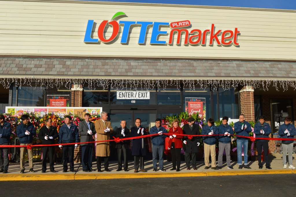 Lotte Plaza Market Opened in Herndon Centre Last Friday