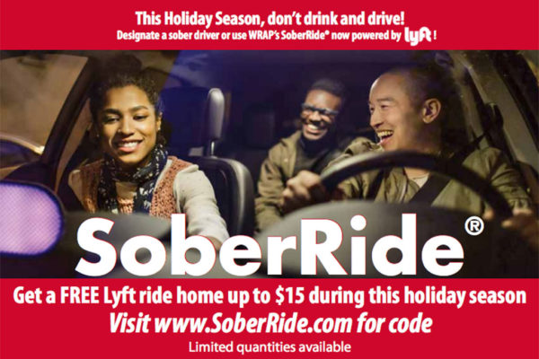 Starting Friday: Free Holiday Lyft Rides to Combat Drunk Driving