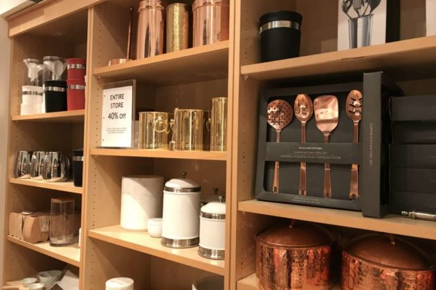 Williams-Sonoma, Pottery Barn Close Suddenly Last Night in ...