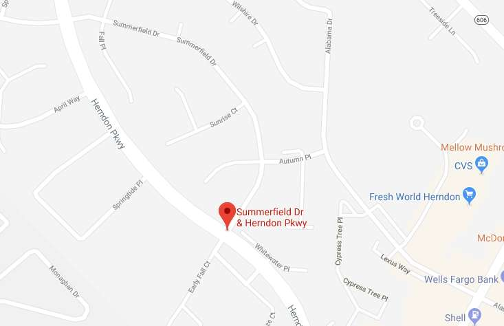 Summerfield and Herndon Parkway (Image via Google Maps) | Reston Now