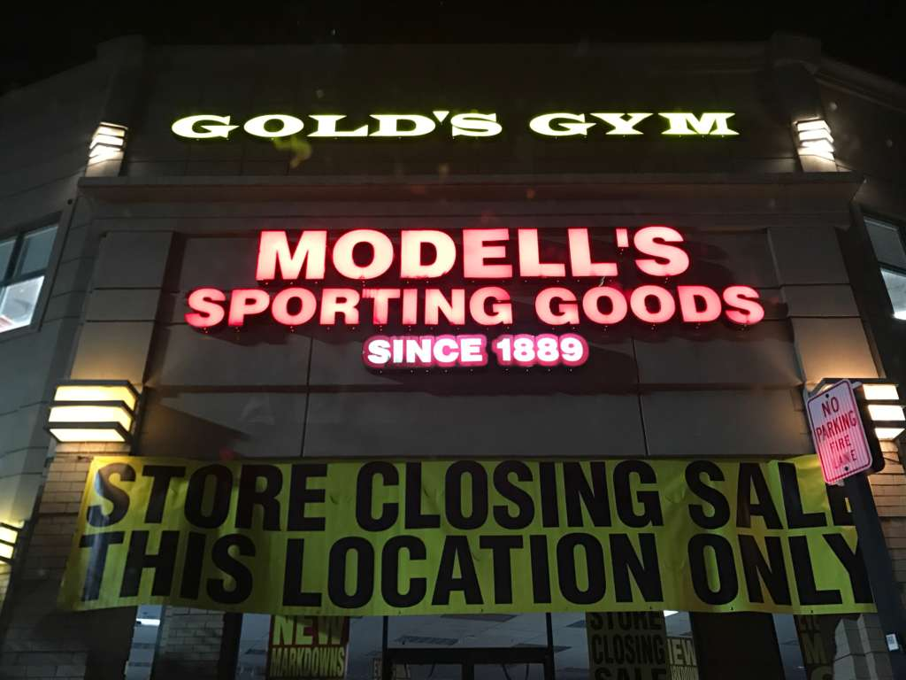 Modell's Sporting Goods To Close in July | Reston Now