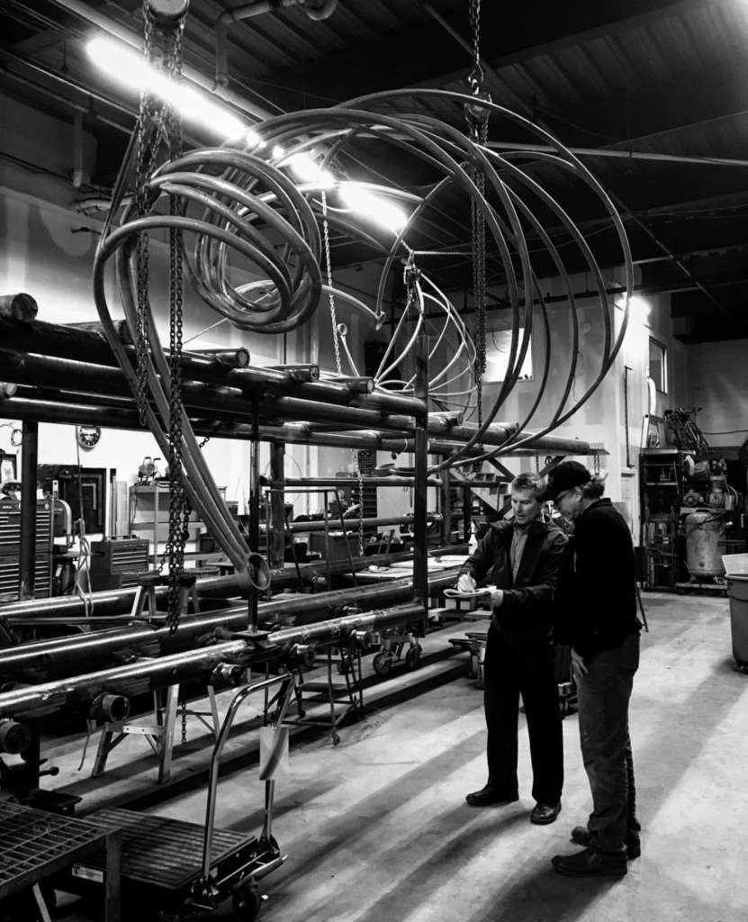 Reston Town Center Map: Steel Sculpture On Track For Fall Installation In Reston