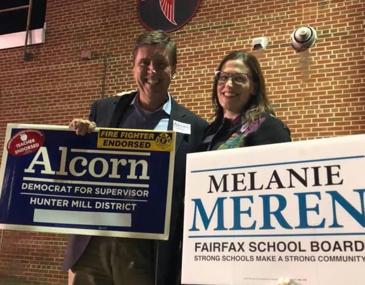 In Landslide Victory, Meren Win Hunter Mill District