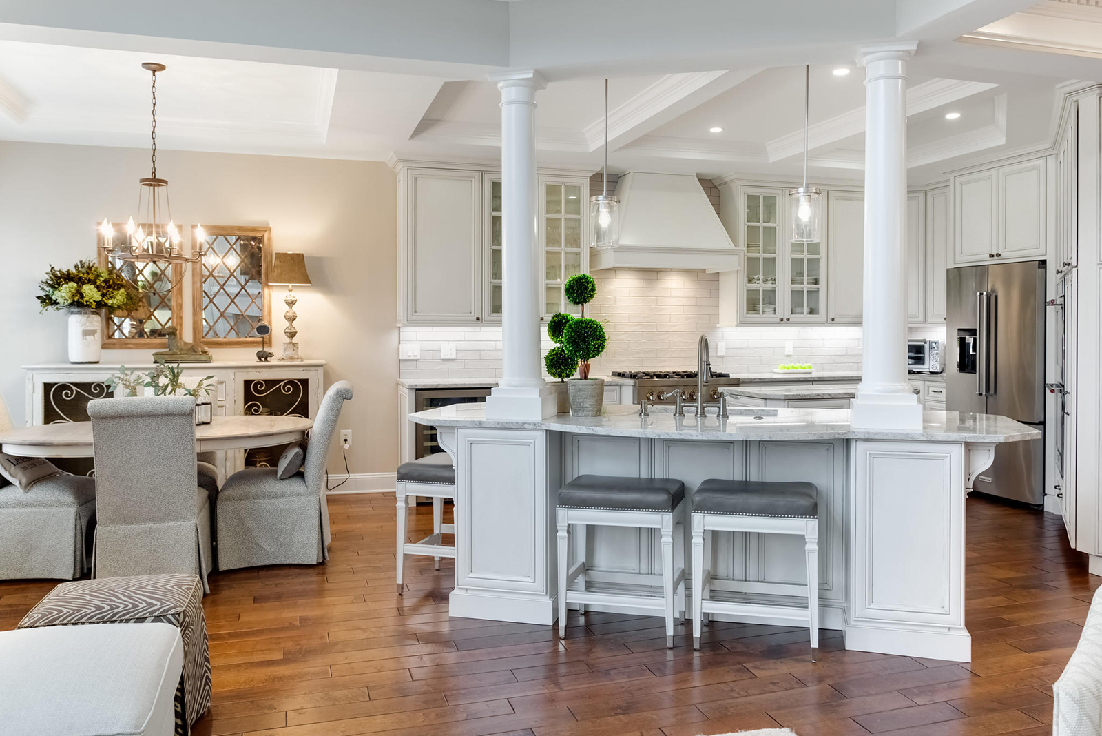 Reno Of The Month Transitional Kitchen Design Demystified Reston Now
