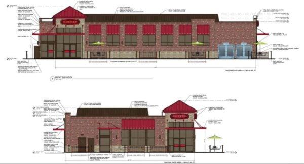Sheetz in Herndon rendering (Photo via screenshot/Fairfax County Planning Commission)