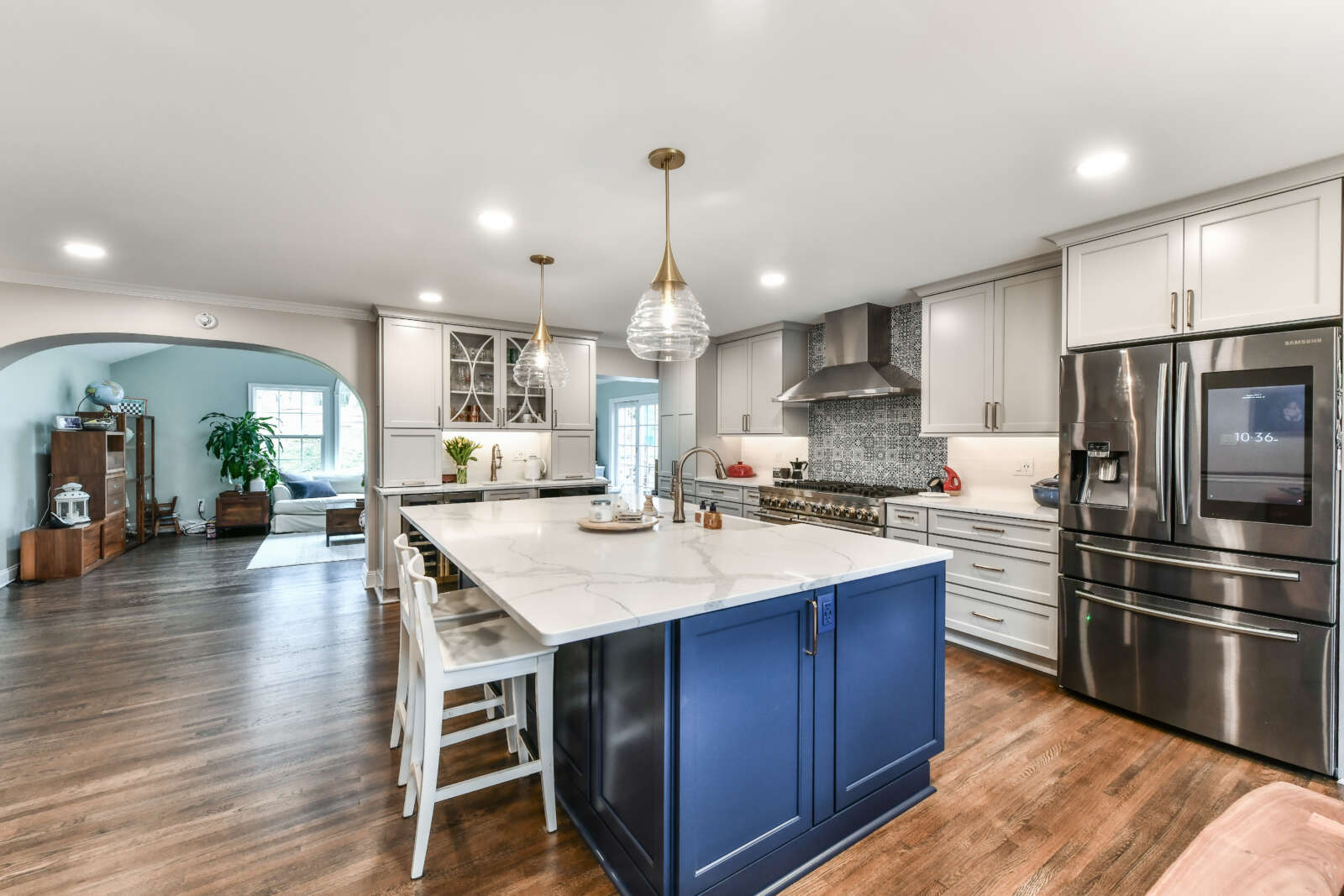 Reno Of The Month How To Reimagine Your Split Level Home Reston Now