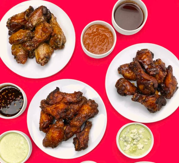FedWings has opened at Reston Town Center, smoking and frying out of the Ted Bulletin's kitchen (Photo courtesy of Salis Holding)
